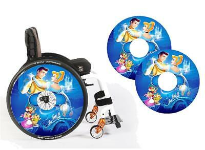 Wheelchair Spoke Guards & Graphics any design 0006