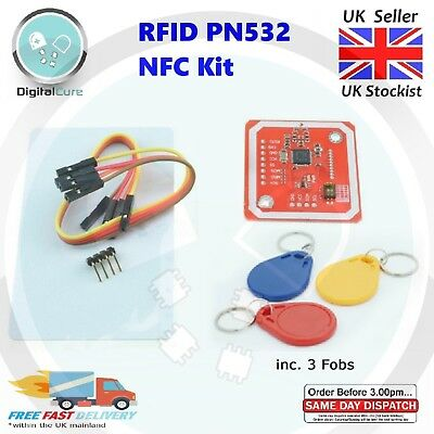 PN532 NFC RFID Module V3 Kit Reader Writer Module + Guide - Android Arduino