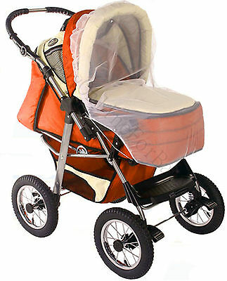 Baby Stroller Pushchair Pram Anti Insect Fly Mosquito Net Mesh Cover Universal