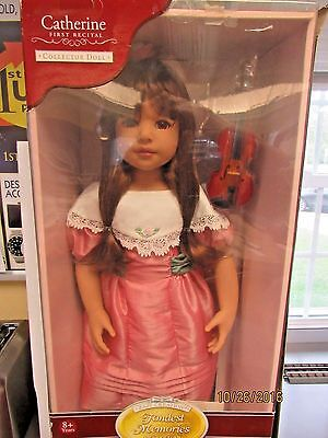 NEW ZAPF CREATION VINYL DOLL from FONDEST MEMORIES COLLECTION 98670-UP4-A)