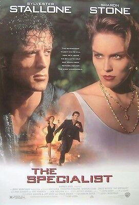 The Specialist (1994) Original S/S One-Sheet Cinema poster, Sylvester Stallone