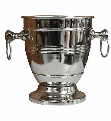 Wine and champagne ice bucket chiller - bottle cooler  - antique style - 22cm