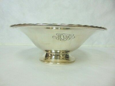 VINTAGE ANTIQUE STERLING SILVER TOWLE COMPOTE BOWL 1008g