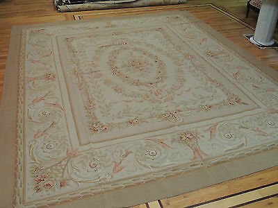 Brilliant Oversize/Palace  French Aubusson Style Area Rug 12x15 Oriental Area