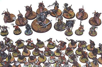 Warhammer LOTR The Hobbit Mordor Isengard painted Army Force Lord of the Rings