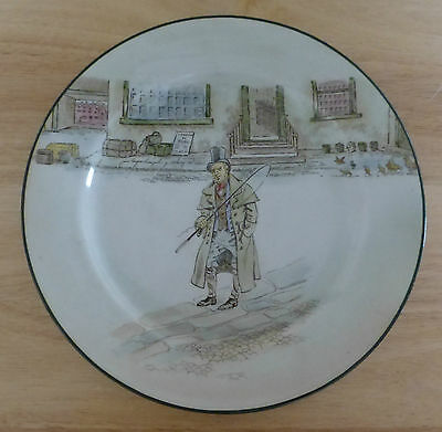 ROYAL DOULTON Dickens Ware Plate 9¾ Inches - Barkis