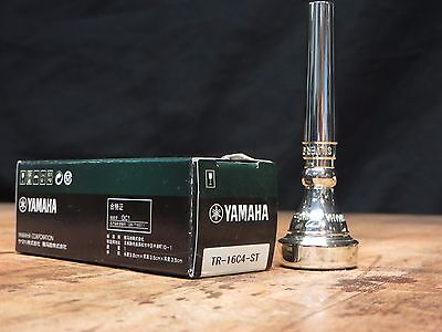 Genuine Yamaha Sterling Silver 16C4 Trumpet Mouthpiece Made of Sterling Silver!