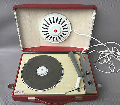 Ancien tourne Disque SONOLOR pic up vintage french antique turntable