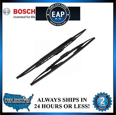 """Bosch Wiper Blade Set - 19 And 21"""" (Pack of 2) New"""