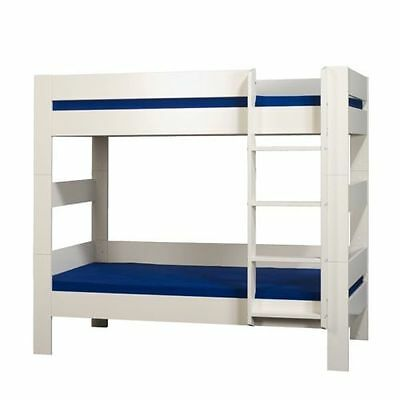 KIDS World bunk bed- 3FT- Contemporary - White - Mattress option