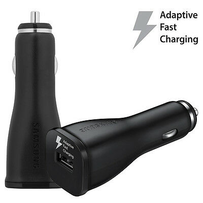 OEM Original Samsung Galaxy Note 4 5 S7 Adaptive FAST Charging Rapid Car Charger