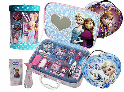 Disney Frozen! Cosmetic Make up Collections! Beauty Cases & Kits Sets!