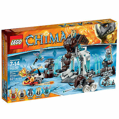 Lego® Legends of Chima Set 70226 Mammoth's Frozen Stronghold