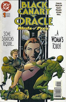 Black Canary Oracle Birds of Prey #1 DC Comic 1996 1st Appearance Comics books