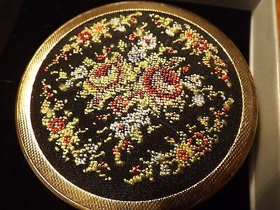 Vintage Tapestry compact mirror