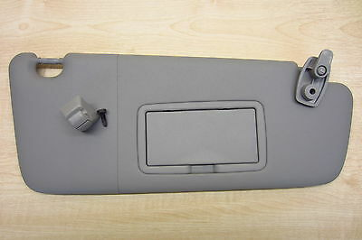 VAUXHALL CORSA D OR E 2006-2017 OS Off Side Drivers Sun Visor Mirror with Clip