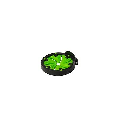 ALEKO Paintball Speed Feed Hopper Max Speed Feed Swirl Design Black Neon Green