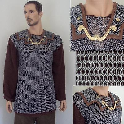 Roman Lorica Hamata Chainmail Historical Armour Perfect for Re-enactment