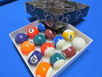 "Premium Kelly Ball Set 2"" Snooker Billiards Pool By Formula"
