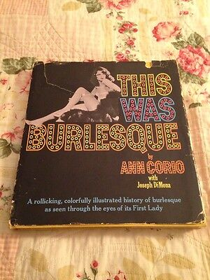 This was Burlesque  by Ann Corio 1968 (Signed)
