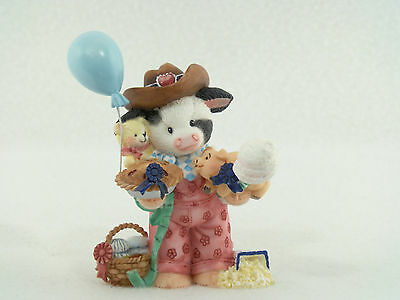 Enesco Mary's Moo Moos A FAIR TO REMEMBER Cow Figurine