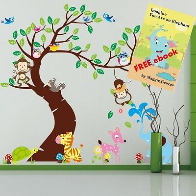 Wall Decals for Girls and Boys Room - ROOM FOR IMAGINING® - Peel and Stick, Rem