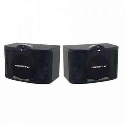 Vocopro SV408 20cm 3 Way Vocal Speakers. Free Delivery