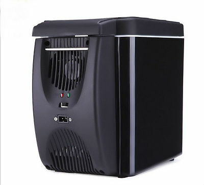 6L Portable Mini Fridge Refrigerator Cooler and Warmer for Home,Office,Car