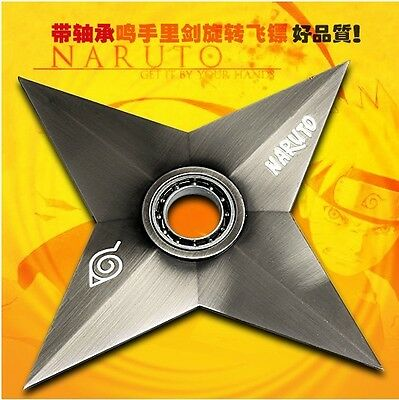 Anime NARUTO Ninja Rotate Shuriken Darts Cosplay gift Metal Sword Weapons Toys