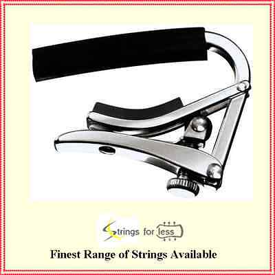 Shubb Deluxe S Series Stainless Steel Acoustic / Electric Guitar Capo S1