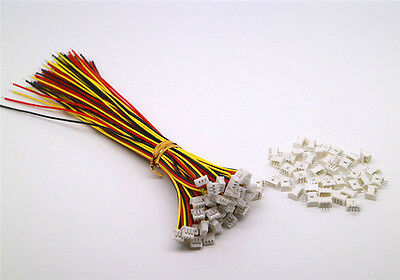 40 SETS JST PH 1.25MM 3 Pin Male&Female Connector plug with Wires Cables