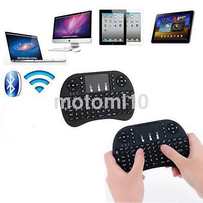 Black 2.4G Portable 92 Wireless Keyboard Keys with Touchpad Mouse Keypad Combo A
