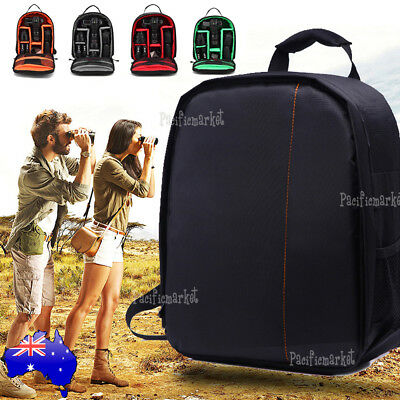 Waterproof Shockproof SLR DSLR Camera Bag Case Backpack For Canon Sony Nikon