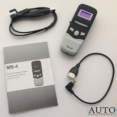 ViseeO MB-4 UHI/MHI Plug-and-Play Bluetooth Hands Free Car Kit for Mercedes Benz