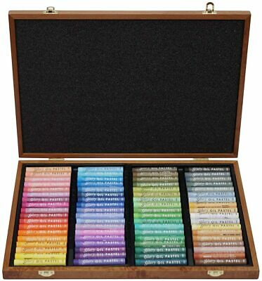 Soft Oil Pastel Mungyo Gallery Premium 72 Colours Wood Artist Drawing MOPV-72W
