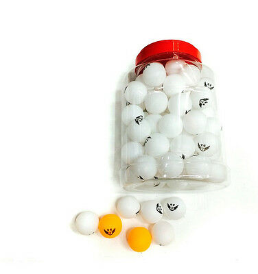 New 60 Pcs Table Tennis Olympic Orange Ping Pong Balls Sports Indoor Games 40MM