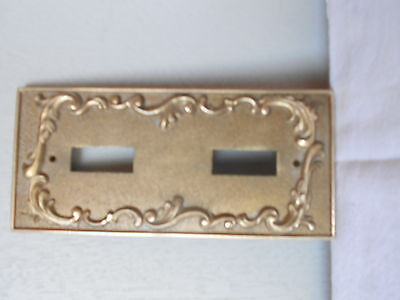 Vintage FRENCH bronze Plaque  Cover plate