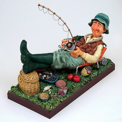"GUILLERMO FORCHINO Comic Art Figur ""Fisherman - Angler"" Professionals - FO85503"