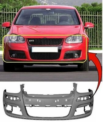 VW GOLF MK5 2004-2008 FRONT BUMPER PRIMED GTi/GT Sport INSURANCE APPROVED NEW