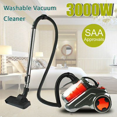 3000W Bagless Cyclonic Cyclone Vacuum Cleaner Efficient Suction Dust Collector