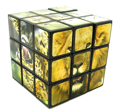 Magic Cube Puzzle Twist IQ Test Toy Brain Teaser Christmas Gift Games For Kids