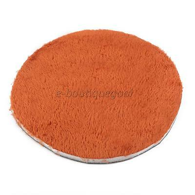 Nid Maison Coussin Tapis Rond pour Animal Rongeur Hamster Lapin 25cm Orange