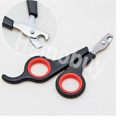 Pet Dog Cat Rabbit Guinea Pig Bird  Claw Nail Clipper Scissors Trimmer Easy Use