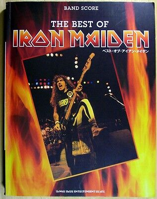 The Best Of Iron Maiden Japan Band Score Guitar Tab
