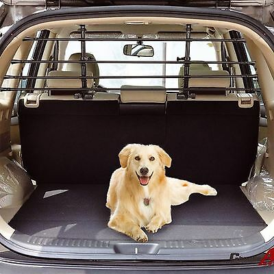 Universal Deluxe Pet Dog Guard Adjustable Safety Barrier Estate Car Hatchback