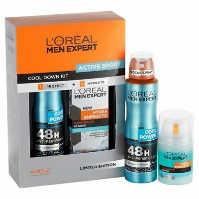 L'Oreal - Men Expert - Active Sport Cool Down Kit Antiperspirant/Hydra Gel 50ml