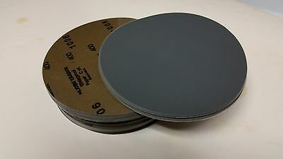 """6"""" D/A Silicon Carbide Wet/ Dry sanding discs PSA  Made in the USA. (25 pieces)"""