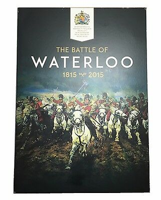 The Battle of Waterloo 200 Album and 5 Medallions (CW2)