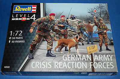 Revell 02522 - German Army Crisis Reaction Forces  scala 1/72