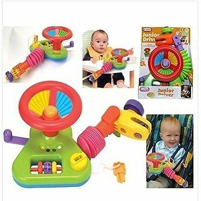 Junior Driver Car Seat Buggy Steering Wheel Baby Toy
